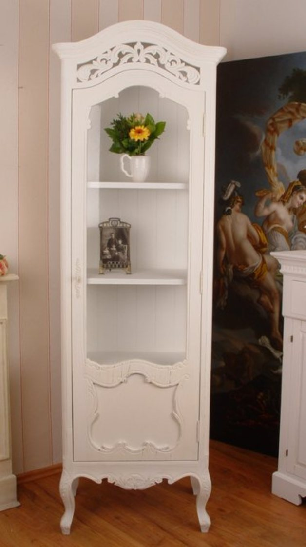 vitrine shabby wohnwelten. Black Bedroom Furniture Sets. Home Design Ideas