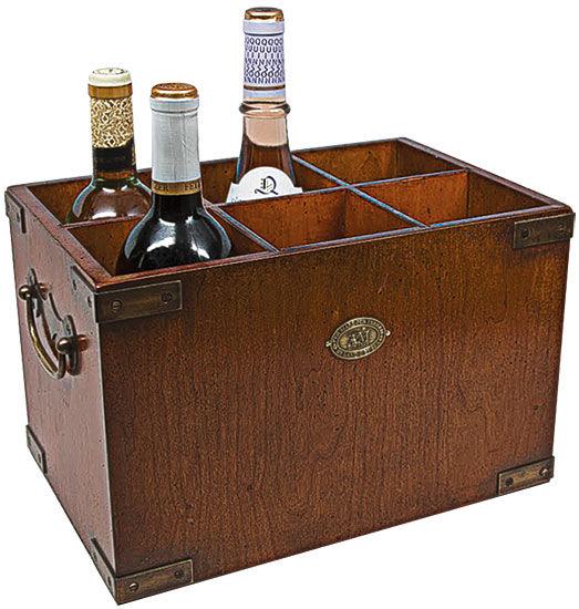 Flaschenbox ´Blue Hour´ (ohne Deko)
