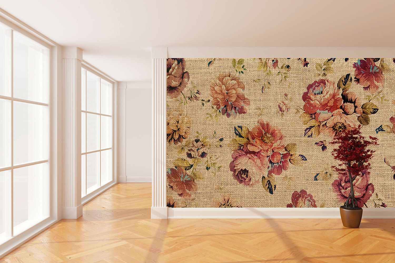 vintage tapeten im used look, industrial design | wohnwelten-shop.de