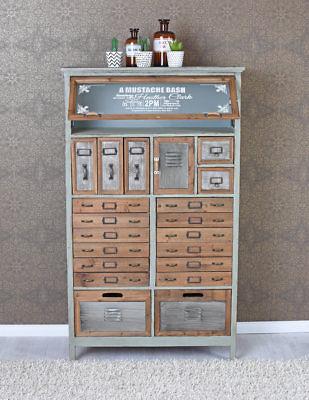 Vintage Kommode Loft Mobel Apothekerschrank Industrial Schrank