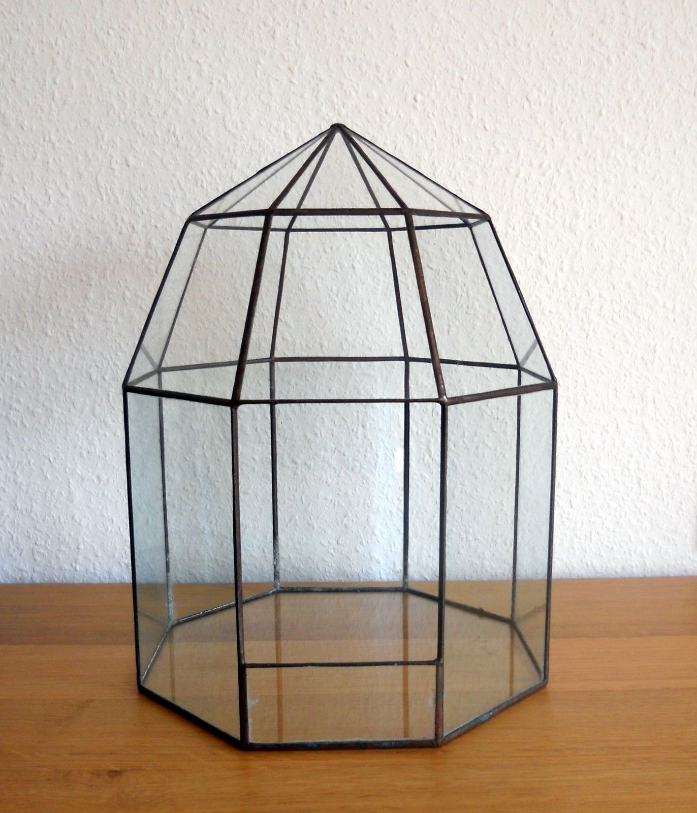 Bleiverglasung Deko-Glashaus Handarbeit Kakteen Pflanzen Terrarium Fiffany-Art