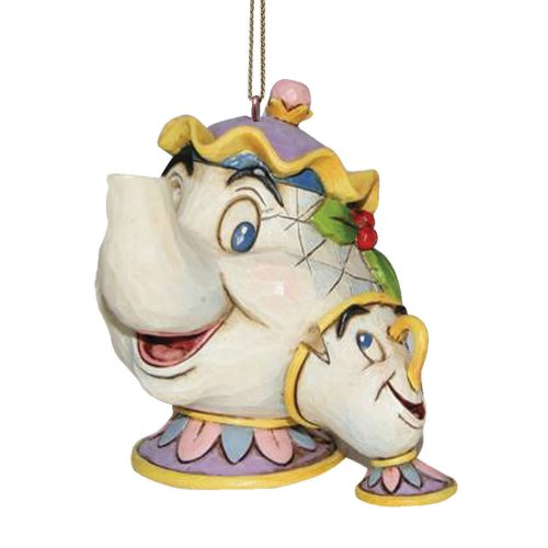 Disney Tradition Mrs Potts & Chip (Hanging Ornament) - 1