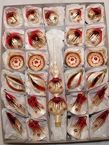 Jingle Bells Lauscha Spitzensortiment 46 teilig Tradition - 1
