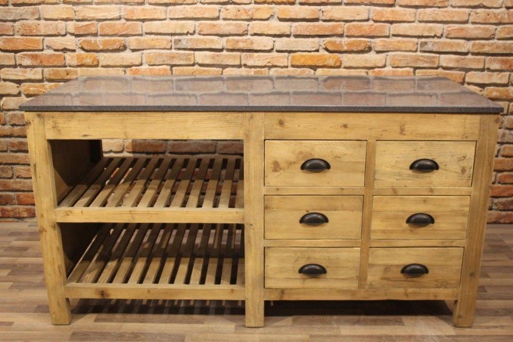 Kücheninsel ARC Granitplatte Küchenarbeitstisch Outdoor-Küche Landhausstil