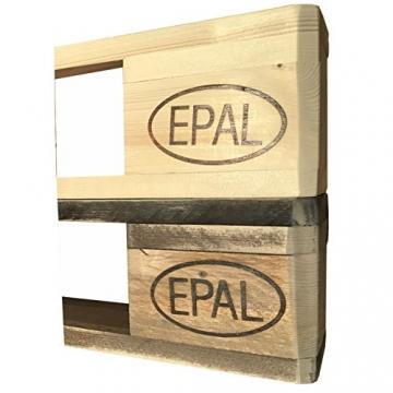 Palettenmöbel: Wandregal, Küchenregal, Gewürzregal KEOKEA aus zertifiziertem Europalettenholz, jedes Teil ist einzigartig und Wird in Deutschland in Handarbeit gefertigt - 4