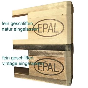 """Palettenmöbel WC-Bürstenhalter/Toilenpapierhalter Set""""Pearl Harbor"""" aus zertifiziertem Europalettenholz, jedes Teil ist Einzigartig und Wird in Deutschland in Handarbeit Gefertigt -"""