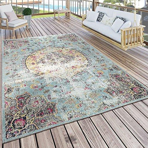 In- & Outdoor Teppich Modern Orient Print