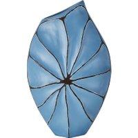 Deko-Vase ¦ blau ¦ Polyresin (Kunstharz) ¦ Maße (cm): B: 29 H: 48 T: 10 Dekoration > Vasen - Höffner