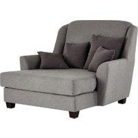 smart Sessel grau - Stoff Lisbeth ¦ grau ¦ Maße (cm): B: 135 H: 100 T: 144 Polstermöbel > Sessel > Ohrensessel - Höffner