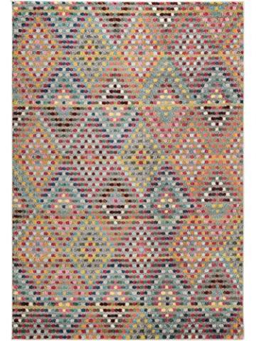 Benuta Teppich Casa, Kunstfaser, Multicolor, 140 x 200.0 x 2 cm - 2