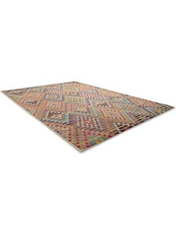 Benuta Teppich Casa, Kunstfaser, Multicolor, 140 x 200.0 x 2 cm - 3