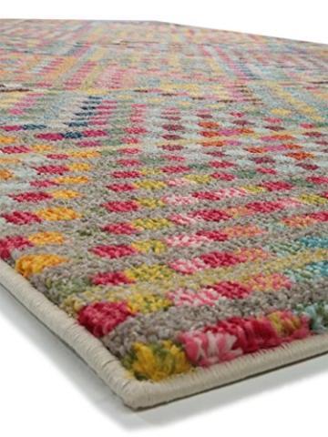 Benuta Teppich Casa, Kunstfaser, Multicolor, 140 x 200.0 x 2 cm - 4