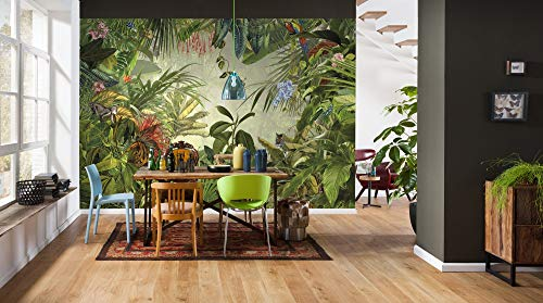 Komar - Vlies Fototapete INTO THE WILD - 368 x 248 cm - Tapete, Wand Dekoration, Regenwald, Dschungel, Tropic - XXL4-031 - 1