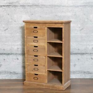 Kommode FINES - Sideboard, Highboard Regal recyceltes Holz Schubladen Vintage