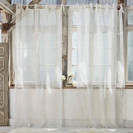 LOBERON Gardine Lionelle, creme (135 x 250cm)