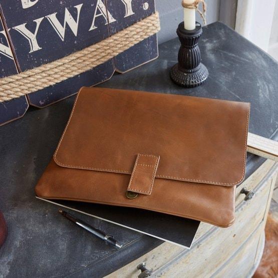 LOBERON Brieftasche Mestare, braun (34 x 30cm)