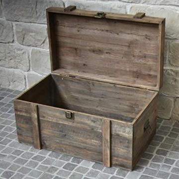 Brocante Landhaus Aufbewahrungsbox, 80 cm x 49 cm x 48 cm