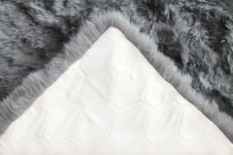 Naturasan Design Öko Schaffell-Teppich 150 x 200, Hochflor