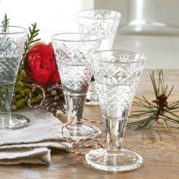 LOBERON Schnapsglas 6er Set Foseca, klar (10cm)