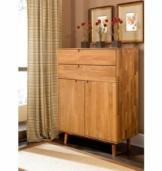 Home affaire Kommode »Scandi«, aus massivem Eichenholz, mit sehr viel Stauraum, Breite 80 cm