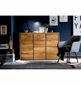 Home affaire Kommode »Zetra«, aus massivem Wildeichen Holz, mit Soft-Close-Funktion für die Schubladen