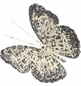 Home affaire Wanddekoobjekt »Vintage Butterfly«, aus Metall