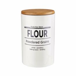 KARLTON BROS. Vorratsdose Flour 1100ml