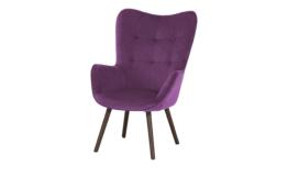 Playboy Sessel  Bridget ¦ lila/violett ¦ Maße (cm): B: 68 H: 99 T: 77 Polstermöbel > Sessel > Ohrensessel - Höffner