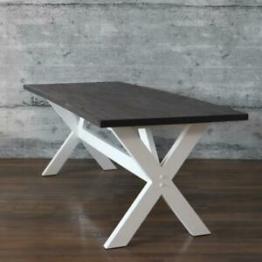 Tisch IVOC dunkel Esstisch 220x90 cm Massivholztisch rustikal Landhaus Esszimmer