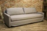 Sofa LAYL - Hussensofa, grau klassisch elegant Relaxsofa Designsofa modern 235cm