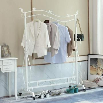 Kleiderständer im Vintage-Stil Garderobenständer Höhenverstellbar