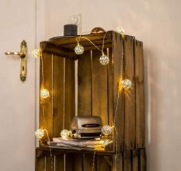 CozyHome marokkanische LED Lichterkette – 7 Meter | Mit Netzstecker