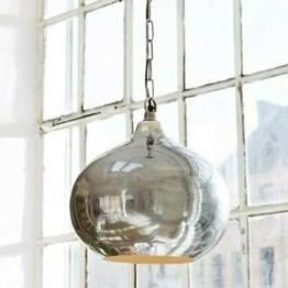 Hängelampe GLAD, Designlampe rund Messing Deckenleuchte Ø31cm Deckenlampe