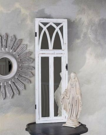 Wandspiegel Shabby Chic Spiegel Fensterspiegel 115cm -