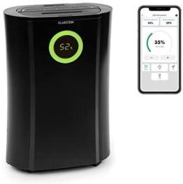 Klarstein DryFy Pro Connect Luftentfeuchter Dehumidifier Kompressionsluftentfeuchter, integrierter Luftreiniger mit Filter, Ionisator und UV-Funktion