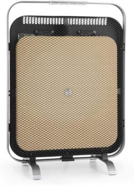 HeatPal Marble Blackline Infrarot-Heizung mit Thermostat - mobiles Heizgerät, Räume bis 30 m², Wärmespeicherfunktion, Marmorplatte