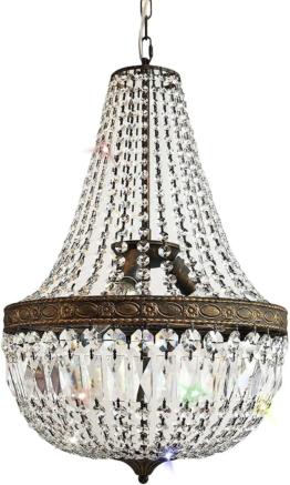 Kronleuchter, Kristallleuchter, Korblüster, 50 cm