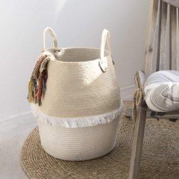 Aufbewahrungskorb aus Baumwolle Seil 41 x 38 x 38 cm