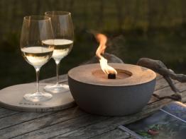 Wiederbefüllbare Gartenfackel | 'Unendliche' Brenndauer durch Recycling von Kerzenwachs | Tischfeuer Fackel Kerze Outdoor