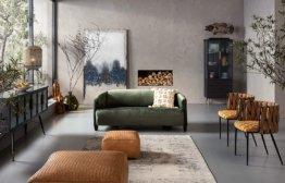 Armlehnstuhl Cheerio, Flechtstuhl mit Kissen,stylischer Esszimmerstuhl aus Kunstfaser, (H/B/T) 75x55x52cm