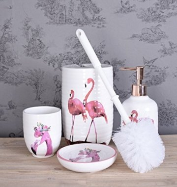 Badezimmer GARNITUR Flamingo -