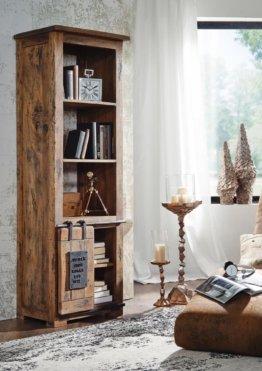 Bücherregal Mango 60x41x180 natur lackiert RAILWAY #104