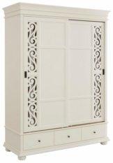 Premium collection by Home affaire Schiebetürenschrank »Arabeske« mit schönen dekorativen Fräsungen auf den Türfronten, 2-trg, Breite 160 cm