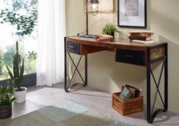Schreibtisch Altholz 135x50x80 lackiert INDUSTRIAL #43