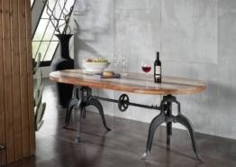 Tisch Altholz 180x100x75 mehrfarbig lackiert INDUSTRIAL #04