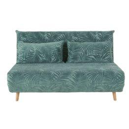 Sofa Blätter Motiv
