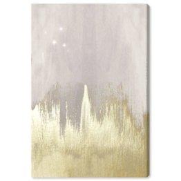 Leinwandbild Offwhite Starry Night von Oliver Gal East Urban Home Größe: 114 cm x 76 cm