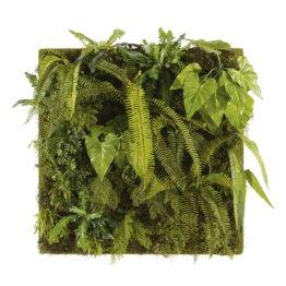 Pflanzenbild mit künstlichen Pflanzen 100x100