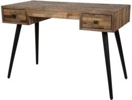 Schreibtisch - Vintage Schwarz