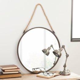 Spiegel aus Metall, D.60